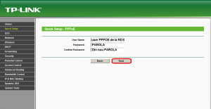 TP Link user PPPOE