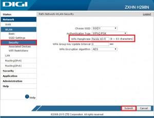 Router ZTE ZXHN H298N Digi