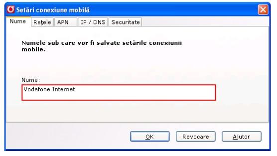 Configurare Stick Vodafone