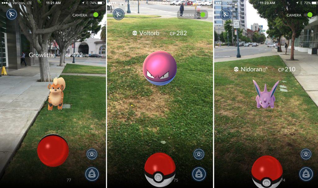 Aplicatie Pokemon Go