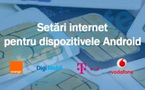 Setari internet Telekom